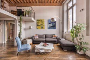 Appartement Triplex proximité Place Bertone à Lyon 4ème