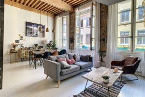 Appartement duplex proximité Mairie à Lyon 4ème